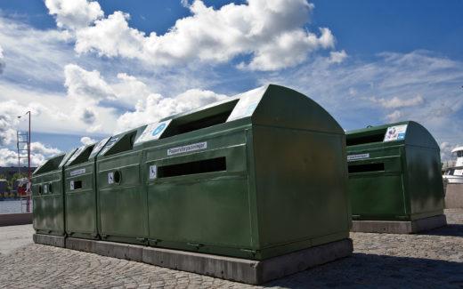 Hamburgsunds återvinningsstation flyttad