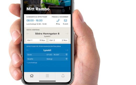 Nu är appen Mitt Rambo här!