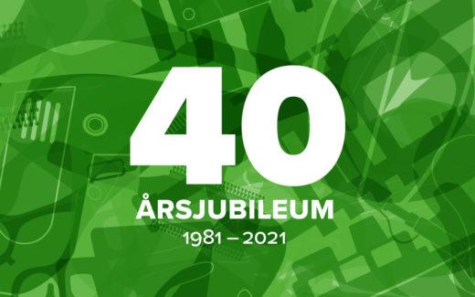 Hurra för 40 år i miljöns tjänst!